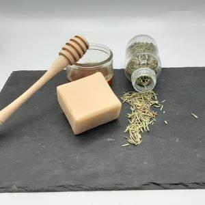 savon parfumé Miel Romarin
