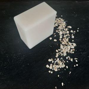 visuel savon Flocon 100g neutre au lait d'avoine